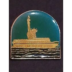 Kyпить STATUE  OF LIBERTY CIRCLE LINE STATUE FERRY VINTAGE RARE PIN EXCELLENT CONDITION на еВаy.соm