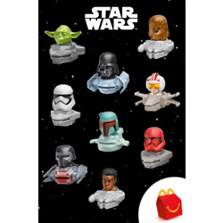 Kyпить Mc Donalds`s 2021 Disney Princess & Star Wars Happy Meal Toys !! Select Your Toy на еВаy.соm