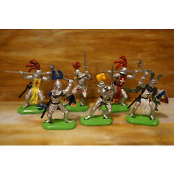 Kyпить 1995 Britains Knights of the Sword Super Deetail Toy Figures Lot (6)  на еВаy.соm