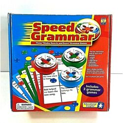 Kyпить Speed Grammar Game Nouns Verbs Prepositions Adverbs Adjective HomeSchool English на еВаy.соm