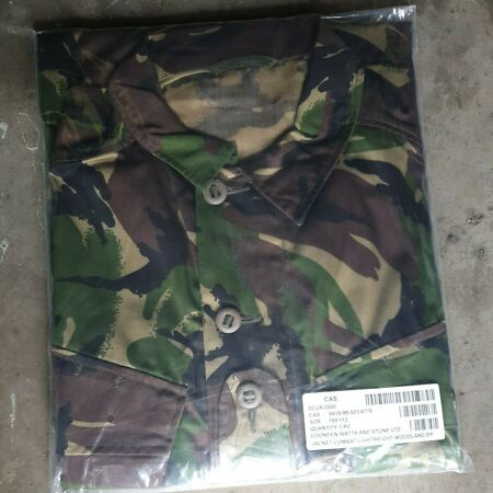 img-New British Army Jacket Combat Lightweight Woodland DPM Shirt 180/112