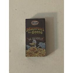 Wacky Packages Minis - 3D Puny Products Series 2 - Kramp Macaroni for Geese