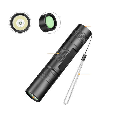 img-Mini 300LM Police Tactical*Military CREE S5-XPE LED Flashlight Torch Gift Lamp