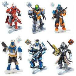 Kyпить Mega Construx Destiny Heros 6pk Bundle Series 1 Guardians Mini Figures CHOP на еВаy.соm