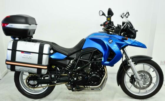 BMW F650GS ABS 2009, 09, Blue, Fsh, 3 Box, Heated Grips, Screen, Seat, Extras.
