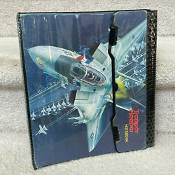 Kyпить Vintage 1989 Trapper Keeper - John Maggard Fighter Jet Notebook Binder на еВаy.соm