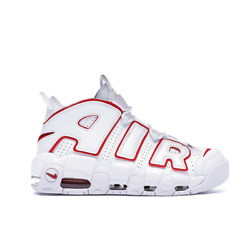 Nike Air More Bike uptempo white red 921948-102