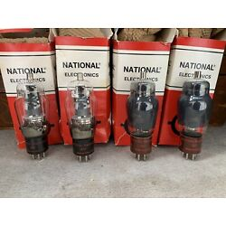 National Electronics Vacuum Tube 807 All NOS Sold Separately Tested Excellent!