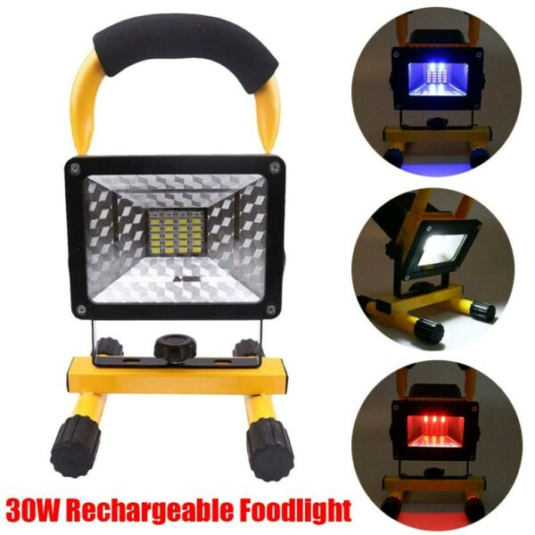 Lichfield,United Kingdom30W Battery LED Work Light  Rechargeable Camping Tent Night Torch Flood Lamps