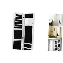 Kyпить  Wall Jewelry Cabinet Armoire with Mirror, Door or Wall Mounted Jewelry WHITE на еВаy.соm