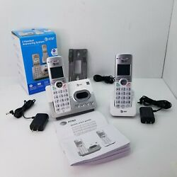 Kyпить AT&T Cordless Phone 2 Handsets Answering System Caller ID/Call Waiting EL52203 на еВаy.соm