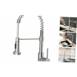 Kyпить  Kitchen Faucets Low Lead Commercial Solid Brass 1 Standard Brushed Nickel на еВаy.соm