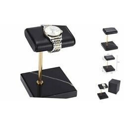 Kyпить  -The Watch Stand with Natural Marble base and Finest Handcrafted Calfskin  на еВаy.соm