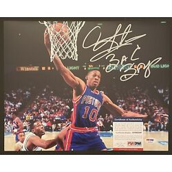 Kyпить DENNIS RODMAN BAD BOYS Pistons Signed Autographed 11 x 14 Photo PSA DNA #AF60209 на еВаy.соm