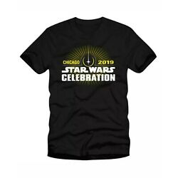 Kyпить STAR WARS CELEBRATION OFFICIAL STORE 2019 CHICAGO LOGO T-SHIRT NWT - SIZE Medium на еВаy.соm