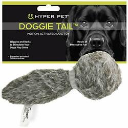 Hyper Pet Doggie Tail Interactive Plush Dog Toys  Assorted Sizes , Colors