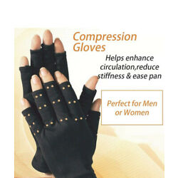 COPPER CARE infused compression gloves Adult -1 Size Fits Most one Pair