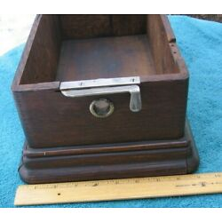 Kyпить Antique Edison Home Cylinder Phonograph Model F Case with Hardware~Stock Part f на еВаy.соm