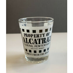 Kyпить Property of Alcatraz Shot Glass A Shot From The Rock Federal Penitentiary на еВаy.соm