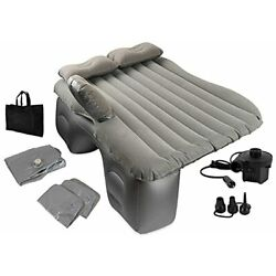 OLIVIA & AIDEN Inflatable Car Air Mattress with Pump Portable Travel Camping ...