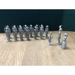 Kyпить Confederate Infantry Departing For The Front.  54mm Unpainted Metal Models на еВаy.соm