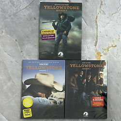 Yellowstone Season Complete Series (DVD 2020,12-Disc) New & Sealed Free Shipping