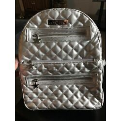 GLAMGLOW Silver Backpack-Never Used-Very Rare Promotional Item-Free Shipping