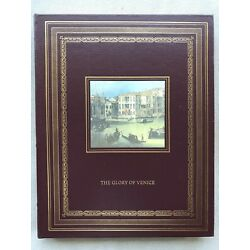 The Glory of Venice by Huguenin & Lessing (Easton Leather Bound, New, Art)
