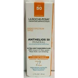 La Roche-Posay Anthelios 50 Mineral Ultra Light Sunscreen Fluid 1.7Oz Expired