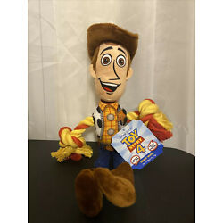 Hyper Pet Disney's Toy Story 4 Woody Rope Plush Dog Toy With Squeaker