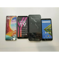 Lot of 22 Assorted Samsung/Huawei/Etc. Display Phones Great Condition - RJ1478