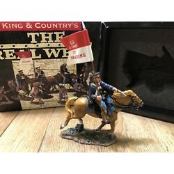 King & Country: Boxed Set TRW002 - US Dragoon w/Guidon. The Real West. Retired.