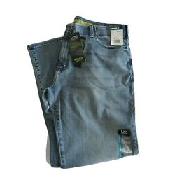 Lee Mens Extreme Motion Performance Regular Fit Bootcut Jeans Nwt Theo 34 x 32