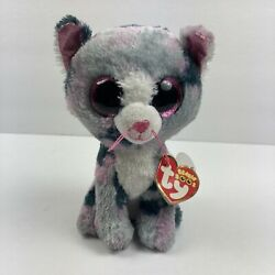 Ty Beanie Boos - Lindi the Cat (6 Inch) DAMAGED TAGS, SEE PHOTOS