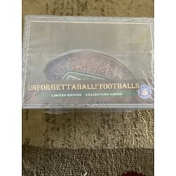 Chicago Bears NFL collectible Wrap Around Mini Football -Sealed In Plastic Case