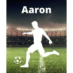 Soccer Decal Custom Name Wall Personalized Removable Vinyl Sticker