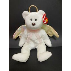 Beanie Babies, Halo, Brown Nose, Gold Halo And Wings.  Two Spaces After ! On Tag