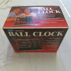 RARE KIT NEW TIME MACHINE ROLLING BALL KINETIC DISPLAY CLOCK BUILD YOURSELF ????