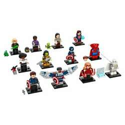 LEGO MARVEL STUDIOS Complete Set of 12 Collectible Minifigures 71031