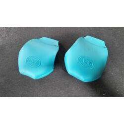 Riedell 122858 One Pair Pro Fit Leather Roller Skate Toe Caps Turquoise