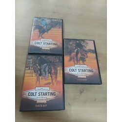 Clinton Anderson Colt Starting Kit 11 DVD's Set Free Shipping