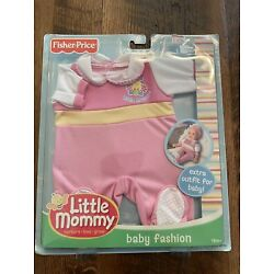 New FISHER PRICE LITTLE MOMMY SWEET AS ME FASHIONS DOLL OUTFIT GIRL