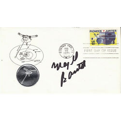 MAJEL BARRETT RODDENBERRY hand signed 1975 FDC first day cover autographed