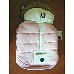 New S/P SILVER PAW Pet DOG COAT Ivory Pink Silver Shield  Anti Odor/Bacteria NWT