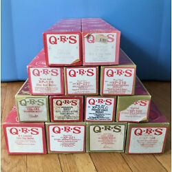 QRS Player Piano Roll, Medleys, Choose Your Own- Show Boat, Glenn Miller, etc.