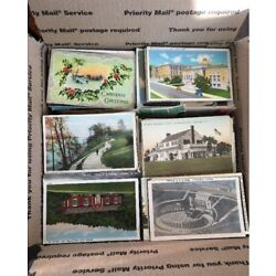 HUGE 500+ Vintage POSTCARD Lot - Early c1900's to 1970's STANDARD SIZE 3.5X5.5