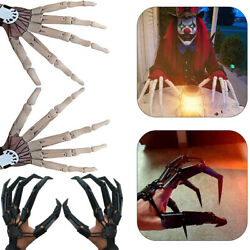 Halloween Articulated Fingers 3D Printed Articulated Finger Extensions Cosplay