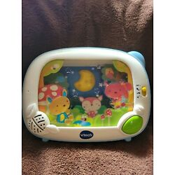V-tech Lil Critters Soothe And Surprise Light Baby Crib Projector, Pre-owned.