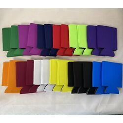Mixed Can Koozie Cooler Coozie Blank Lot 25 Sublimation Fun Party Gift
