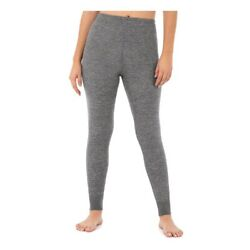Fruit of the Loom Women's Thermal Waffle Pant size Small Gray Beyond Soft New